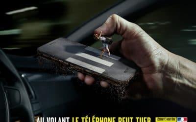 La suspension du permis lors d'une infraction avec téléphone en main